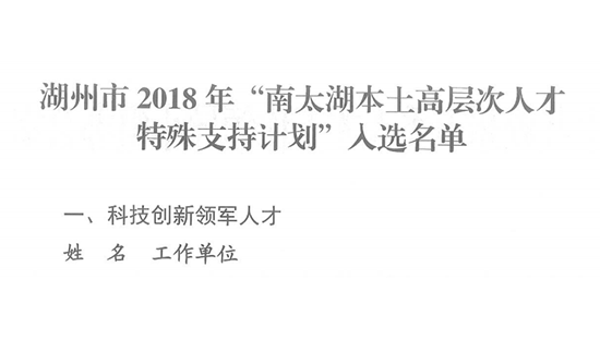 """El elevador WEIBO ayuda al """"Parque Industrial Elite del sur de Taihu"""" seleccionado como """"Plan de apoyo especial local de Nantaihu"""" para impulsar la transformación y actualización inteligente de Huzhou"""