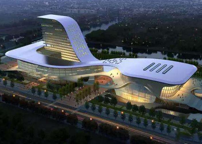 Centro cultural y deportivo de Suqian